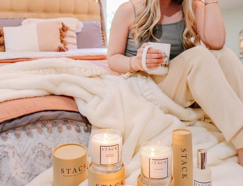Scent Your Home with Stack Candles
